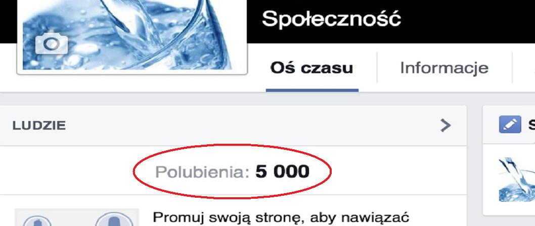 Dziękujemy Wam ! 5000 like-ów na fb.