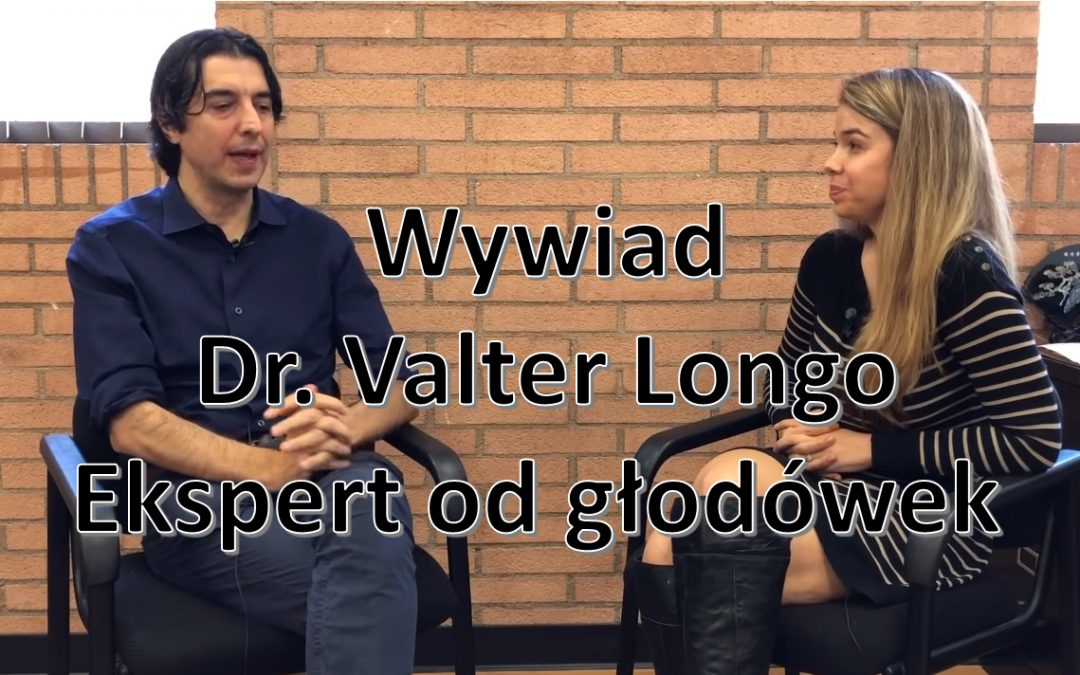 Zdecydowanie polecam ten wywiad z Dr. Valter Longo