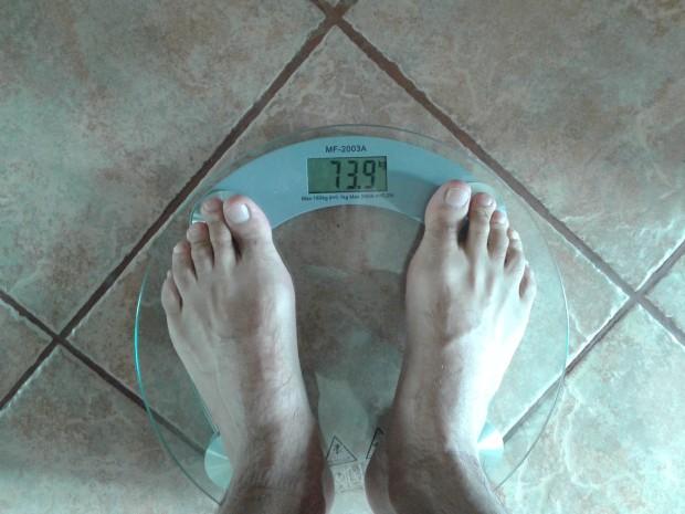 glodowka waga odchudzanie