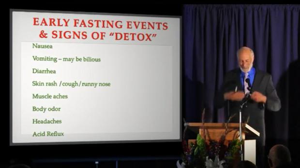 głodówka wczesne objawy detoksu