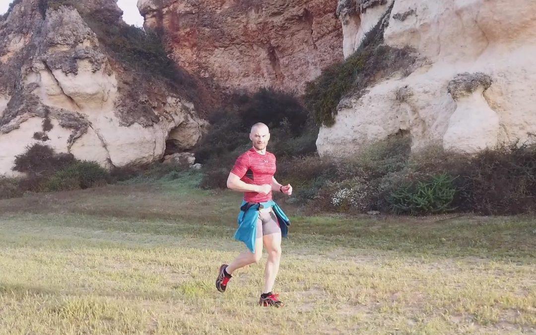 2 IronMan-y pobiegały razem, z Mariuszem moim Trenerem i Mistrzem